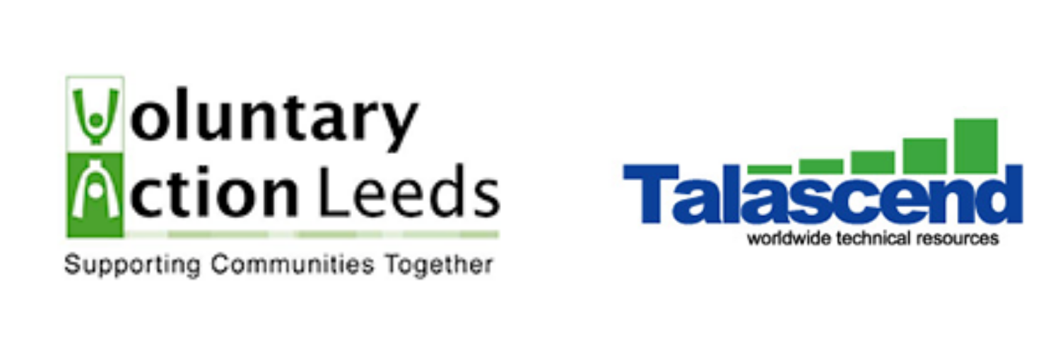 Voluntary Action Leeds and Talascend logos