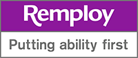 Remploy - Putting ability first logo