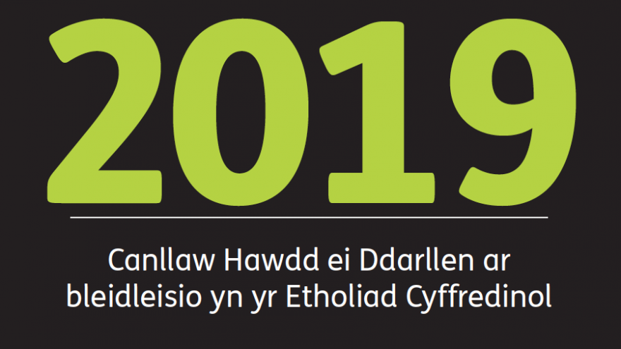 2019 Welsh language guide to voting in the December 2019 general election
