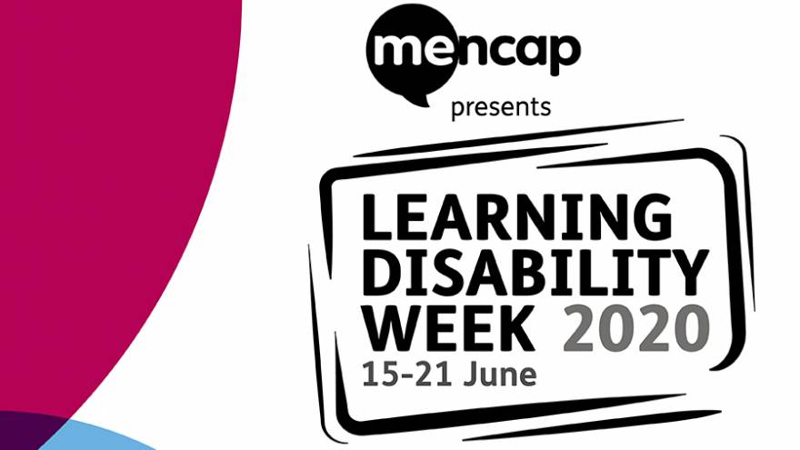 Learning Disability Week 2020 logo