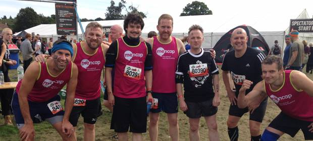 Mencap Tough Mudder participants